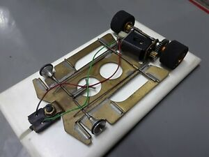 1/24 vintage brass & wire chassis.mura.new tires.tested on track runs good.fast