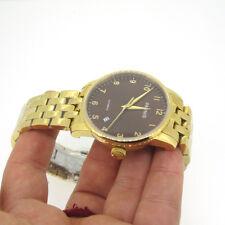 38mm Parnis Gold Bracelet Sapphire Crystal Miyota Automatic Movement Men Watch