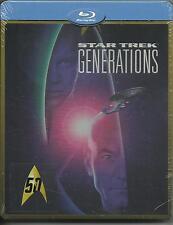 Star Trek. Generazioni (1995) s.e. Blu Ray metal box