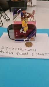 Lebron James Donruss Clearly Acetate Numbered Card /99