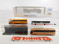 CN311-0,5# 3x Rietze H0/1:87 Bus: 66908 MB+Neoplan Nickel+Travego, s.g.+2x OVP