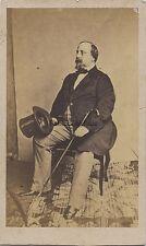 Prince Henri d'Artois comte de Chambord Carte de visite Vintage albumine