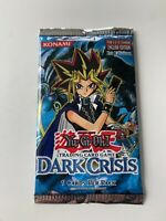 Yu-Gi-Oh! TCG Dark Crisis Booster Pack 1st Edition NEW SEALED