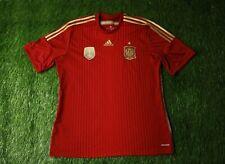 SPAIN NATIONAL TEAM 2013-2015 FOOTBALL SHIRT JERSEY HOME ADIDAS ORIGINAL SIZE XL