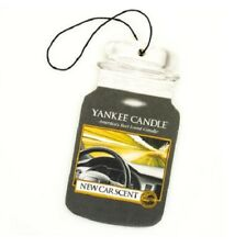 10 YANKEE CANDLE CAR SCENT AIR FRESHNERS--NEW CAR SCENT
