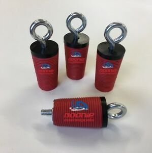 (4) Polaris Lock & Ride Lock and Ride Tie Downs for 2005-2021 Ranger & General