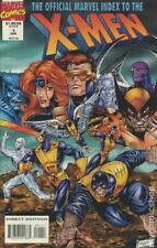 Official Marvel Index to the X-Men #1 FN 1994 Stock Image