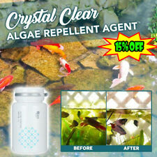Crystal Clear Algae Repellent Agent - tank moss remover Aquarium Algaecide