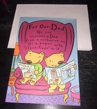 NEW 12 Gibson Father Birthday Greeting Cards/Envelopes