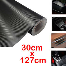 BMW Carbon Fiber Car Black Cloth Vinyl Fabric Twill Fibre Film Auto Sticker Roll