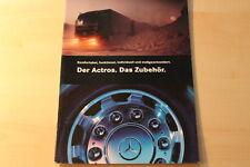 00131) Mercedes Actros - Zubehör - Prospekt 09/1996