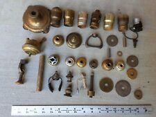 Vintage Electric Lamp Parts Lot of 34