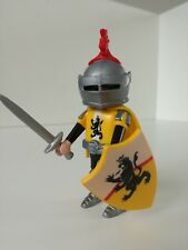 Playmobil Figure - Nicely dressed Yellow King's Knight (Loose)