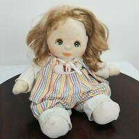 Vintage 1985 Mattel My Child Doll Blond Green Eyes Removable Clothes