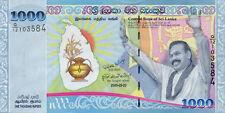 Sri Lanka P-122 1000 rupees 2009 UNC