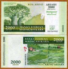 Madagascar, 2000 Ariary, 2007, P-93, Unc > Commemorative