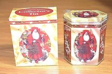 Antique Style Santa Collector Tin Giftco 3236 For Cookies Candy And More