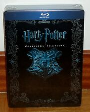 HARRY POTTER-COLLECTION COMPLÈTE 1-8-BLU-RAY-CAJA MÉTALLIQUE