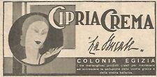 W4936 LA DUCALE - Cipria Crema - Pubblicità del 1934 - Vintage advertising