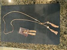 Princess Cube Linear In Rose Gold Henry Bendel Necklace & Earring Set -