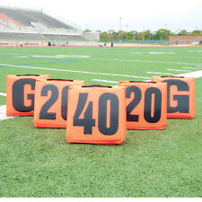 Pro Down® Solid Football Sideline Markers - 11 Piece Set
