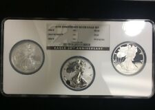 American Silver Eagle 20th Anniversary Silver Coin Set