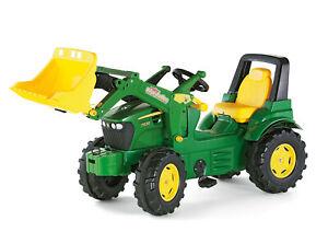Rolly Toys Trettraktor, Traktor John Deere 7930 Tretfahrzeug ab 3 Jahre