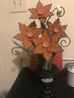 Hyde And Eek Boutique Orange Preying Posies Faux Plant 2020 In Hand Fast Ship