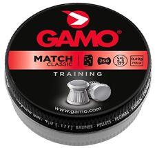 10 boites  Plombs MATCH CLASSIC 4,5 mm - GAMO   250