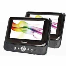"""Sylvania Sdvd9957 9"""" Dual-screen Portable Dvd Player [black]"""