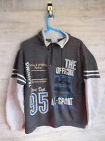 80s 90s vtg gymnasium zip  sweatshirt sweater jumper refA9 large