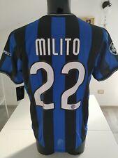 Maglia calcio Inter Milito Nike Football - Juventus Milan Napoli Ronaldo Messi