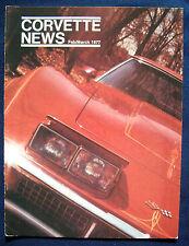 Prospekt brochure Corvette News February / March 1977 (USA)