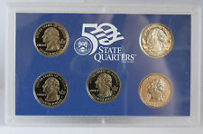 2000 United State Mint  50 State Quarters Uncirculated 5 Coin Set