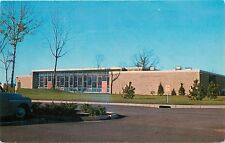 Student Center Rhode Island College RI Mt Pleasant Ave Postcard