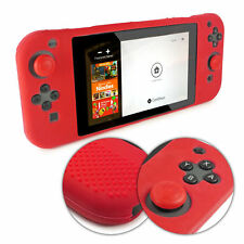 TUFF LUV Nintendo Switch Anti-slip Silicone protective Case (All in one) - Red