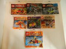 Lego Polybag Bundle x7 - Joker/Movie/Ninjago/Turtles/Pharaoh's Quest/Chima BNIP