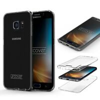 Samsung Galaxy S6 Edge  TPU Case 360 Grad Schutz Hülle Etui Cover Touch Case