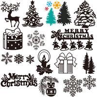 karten zu fotoalbum dekor stanzformen schablonen prägung frohe weihnachten