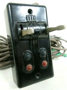 Lionel No. 1122-100 Dual Switch Track Remote Control Model Railway Accessories