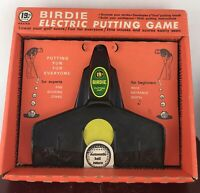 VINTAGE 19th HOLE - BIRDIE ELECTRIC PUTTING GAME MODEL 1903