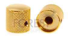 Guitar Dome metal Knob for split shaft Gold 18mm