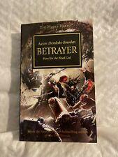 Horus Heresy Betrayer Paperback Novel