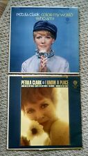 PETULA CLARK LP VINYL RECORD I KNOW A PLACE,COLOR MY WORLD 2 IN LOT