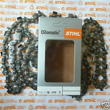 """28"""" 90cm OEM Stihl MS660 RS Chainsaw Chain 3/8"""" 1.6mm 063 3621 000 0091 Tracked"""