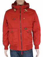 NEW Duck & Cover Mens Size XL XXL Rust Padded Winter Jacket