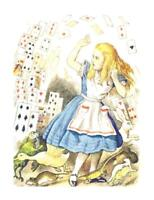 Alice in Wonderland w. Cards II DIGITAL Counted Cross-Stitch Pattern Chart