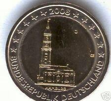 Nuevo diseño 2 Euros Alemania 2008  @ SOLO UNA PIEZA @