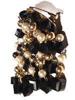 Bijou alliage doré broche breloques perles brooch