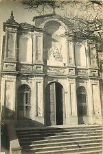 CARTE PHOTO 140915 - CORSE - BASTIA ? - façade monument historique religieux